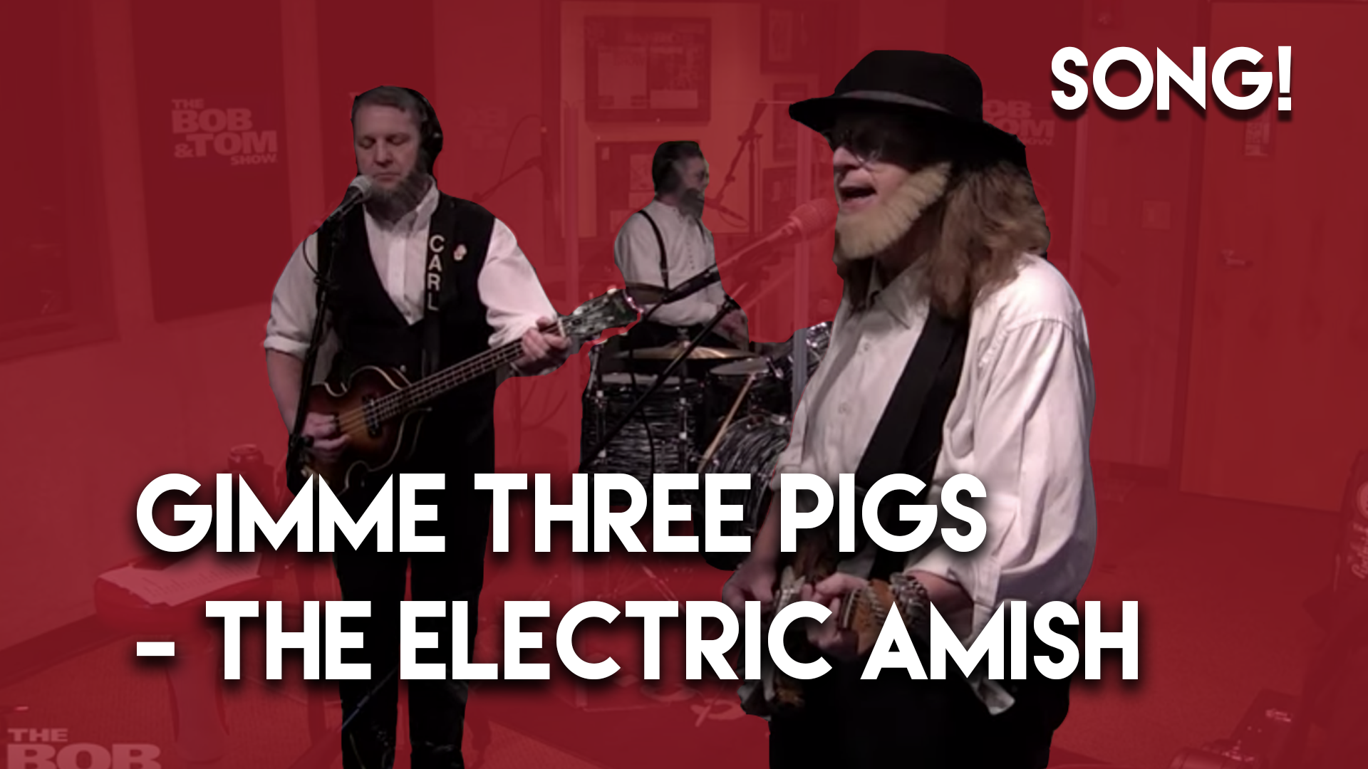 Gimme Three Pigs – The Electric Amish