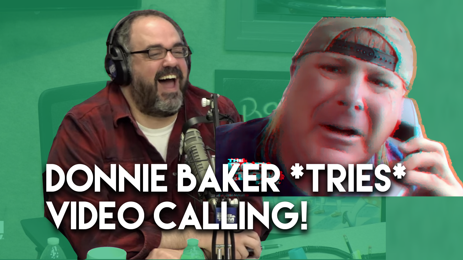 Donnie Baker Tries To Video Conference Us