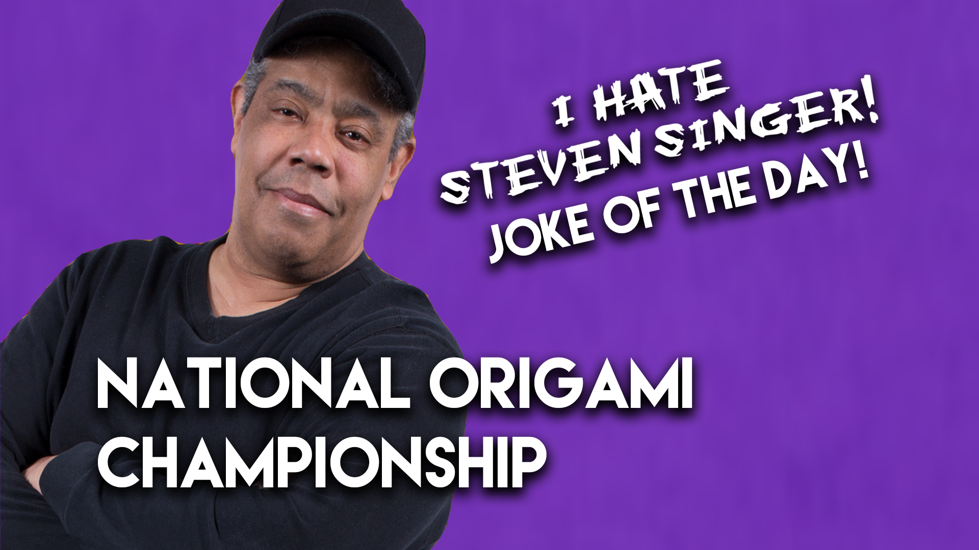 National Origami Championship | The Ace Cosby Joke of the Day Presented by Steven Singer Jewelers
