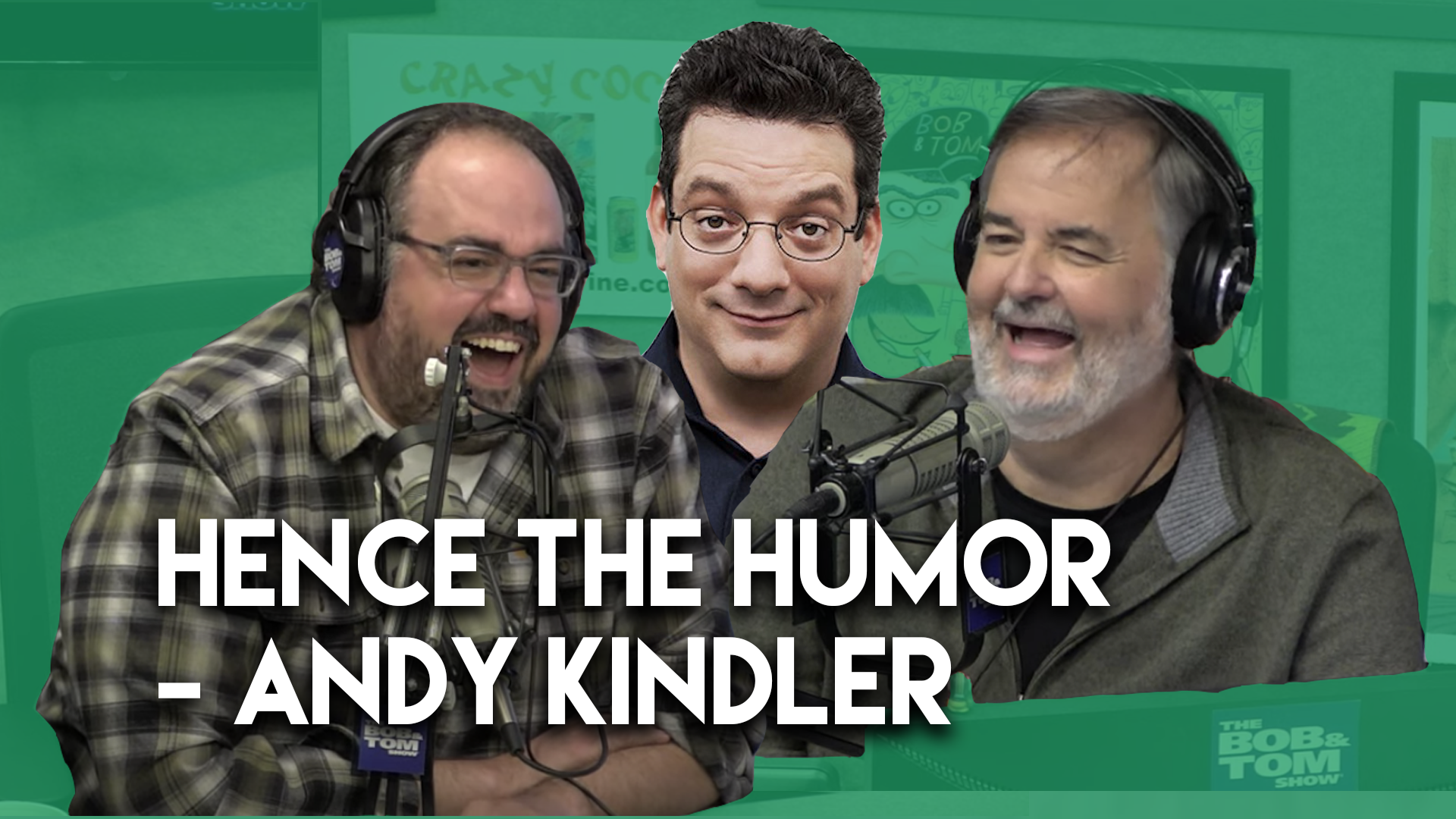 """Hence The Humor"" with Andy Kindler"