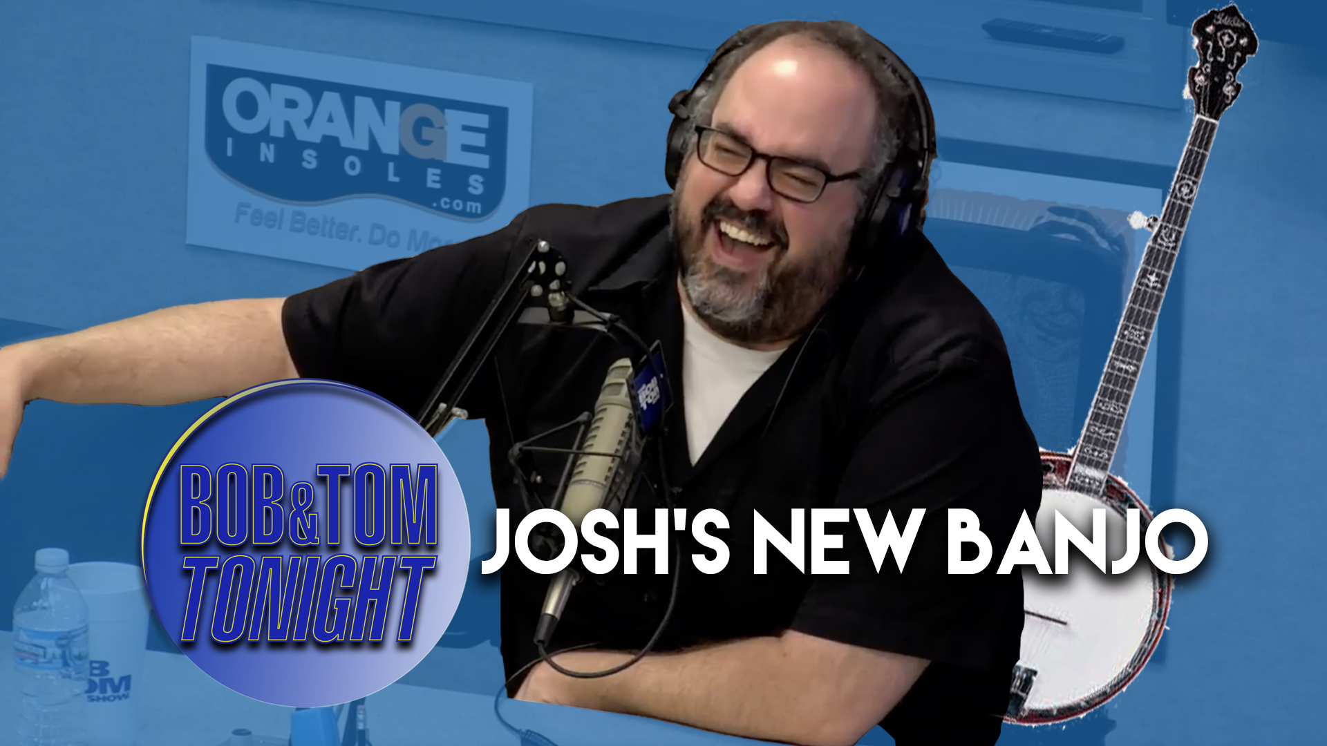 Josh's New Banjo | B&T Tonight