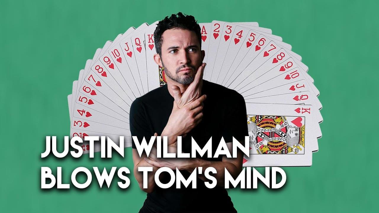 Magician Justin Willman Blows Tom's Mind