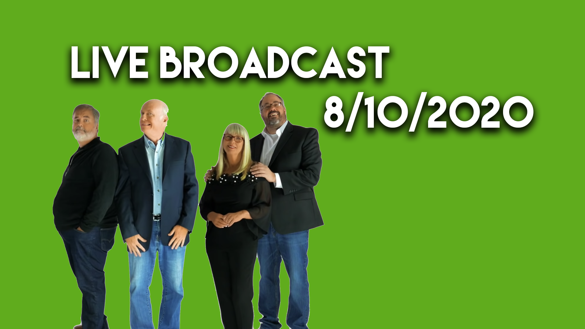 Watch August 10th's Show Live