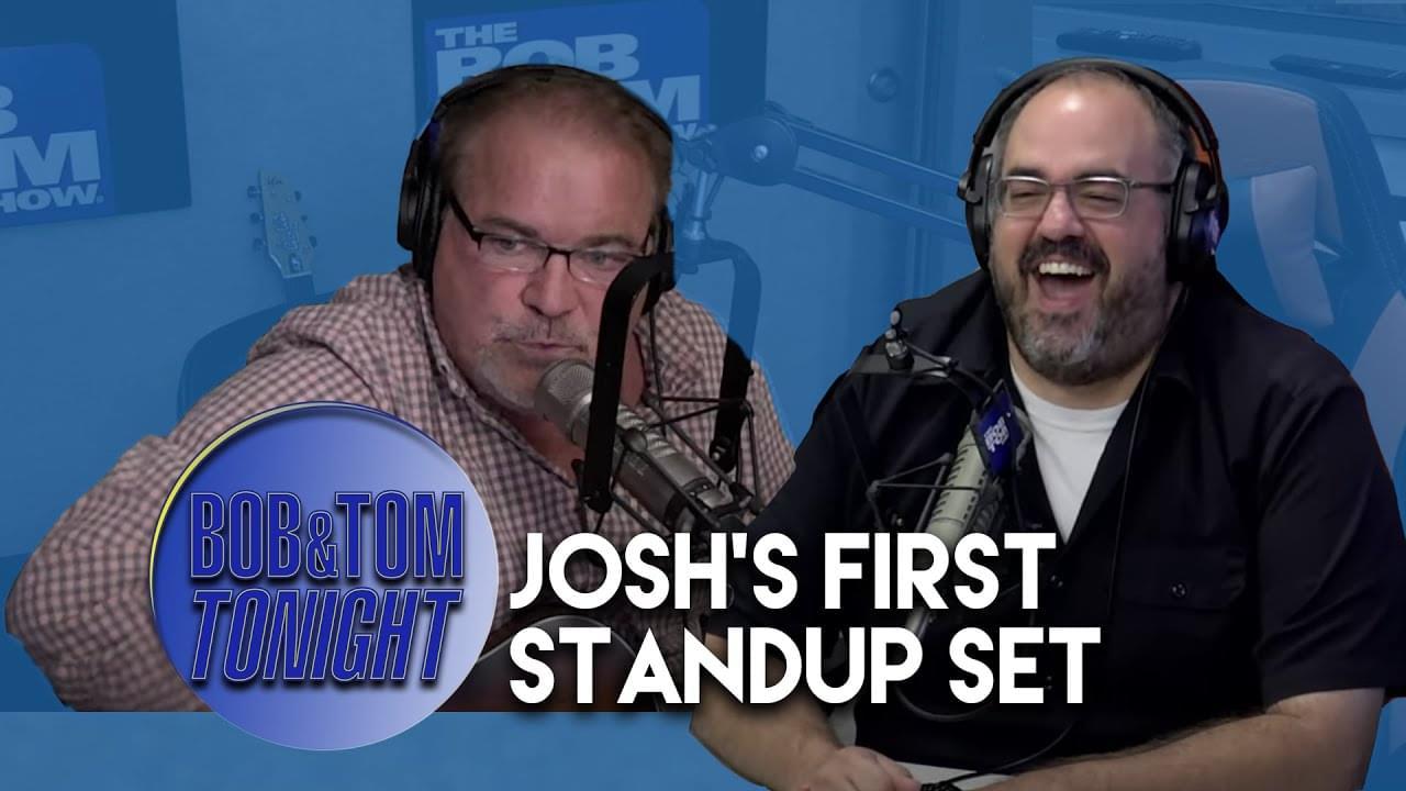 Josh's First Standup Joke & The Pat Godwin Song Challenge | B&T Tonight