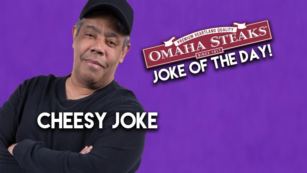 Ace Cosby shares a cheesy joke!