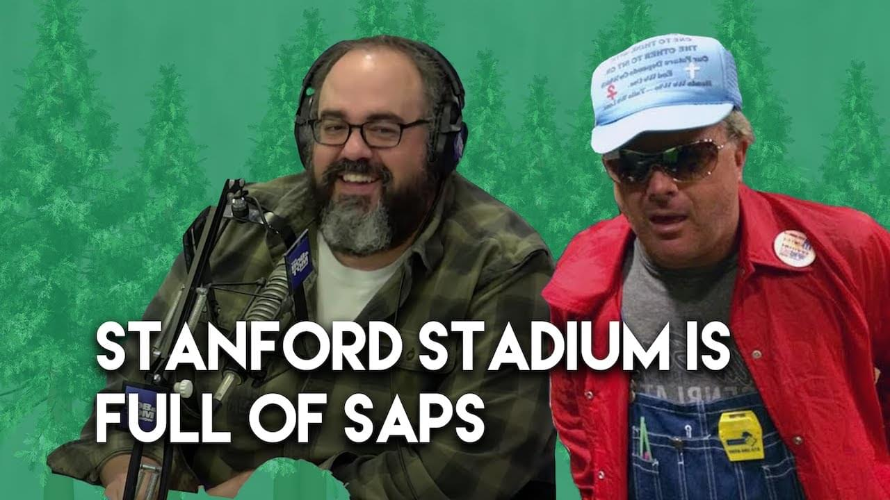Stanford Stadium is Full of Saps