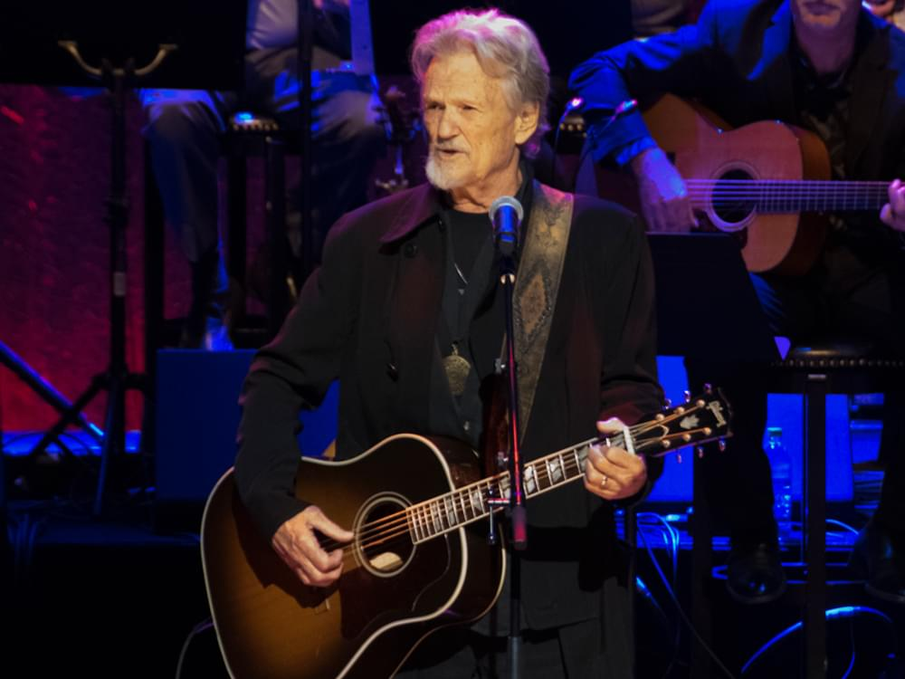 Kris Kristofferson to Be Honored With CMA 2019 Willie Nelson Lifetime Achievement Award