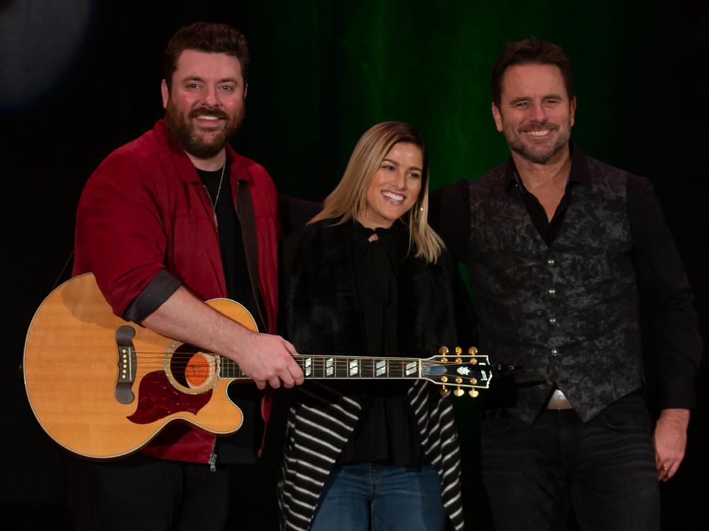 Chris Young, Charles Esten & Cassadee Pope Team With Musicians On Call & the Opry to Perform for Hospitalized Veterans