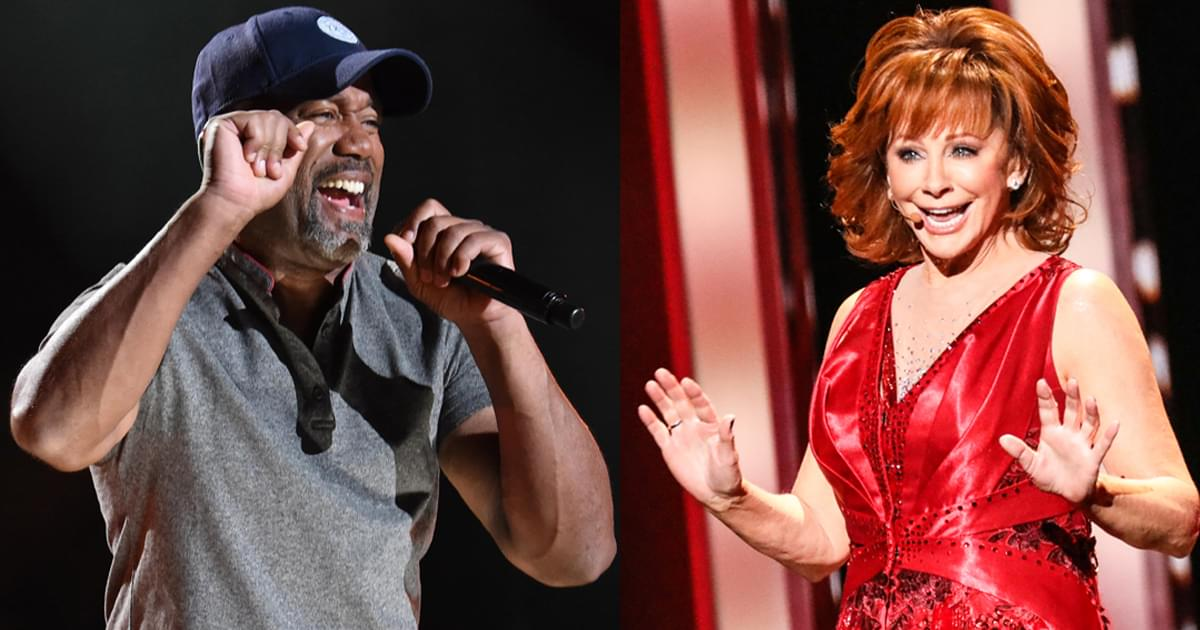 Reba McEntire & Darius Rucker to Co-Host CMA Awards on Nov. 11