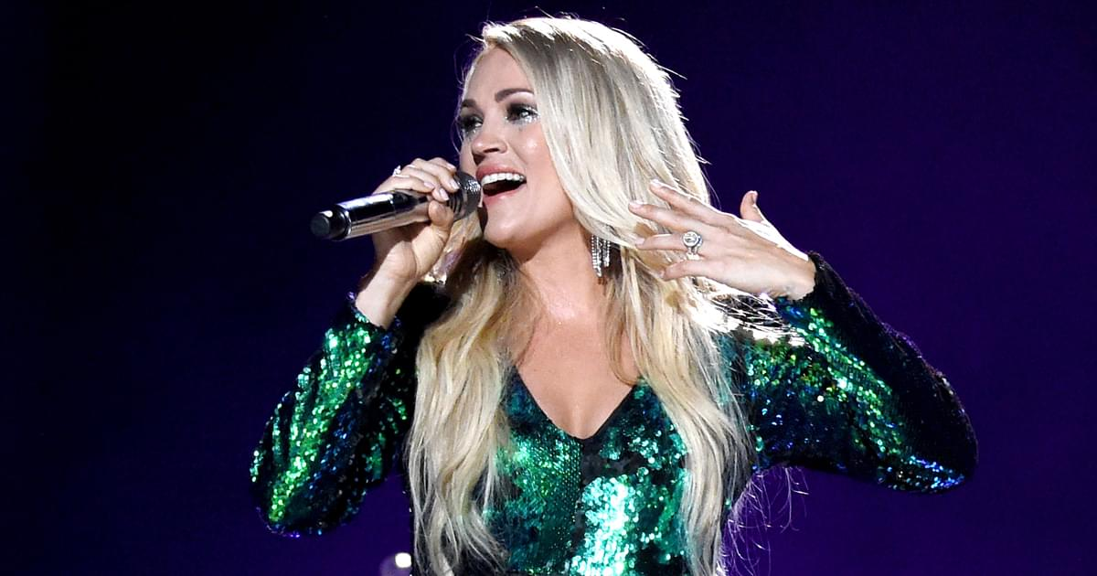 """Carrie Underwood's """"My Gift"""" Debuts at No. 1 on the Billboard Top Country Albums Chart"""