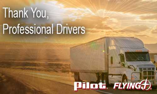Pilot Flying J Launches 'Thank a Driver' Campaign
