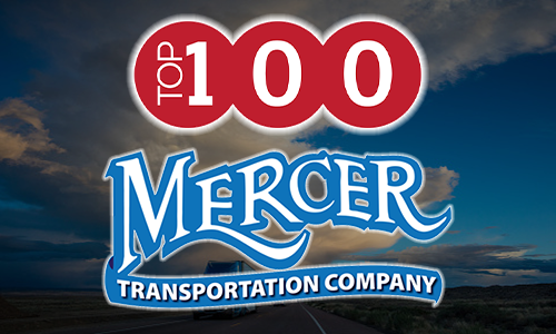 Mercer Transportation Named a 2019 Top 100 Trucking Company by Inbound Logistics