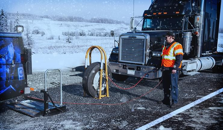 Winter Tire Maintenance Tips from TA Truck Service