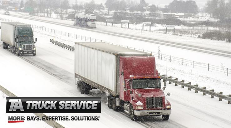 Winter Driving Tips to Keep You Safe on the Road from TA Truck Service