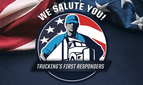 We Salute The American Trucker on Red Eye Radio!