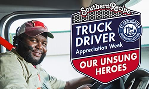 Eric Harley interviews Mark Singleton of Southern Recipe  during Truck Driver Appreciation Week