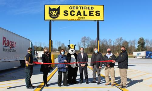 CAT Scale Company Opens 2,000th Truck Scale