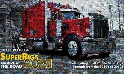 2021 Shell Rotella® SuperRigs® Calendar is Available