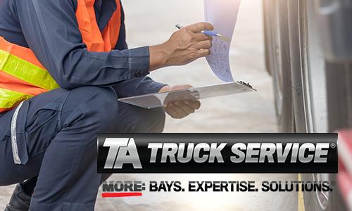 TA Truck Service Tips to Prepare for Roadcheck