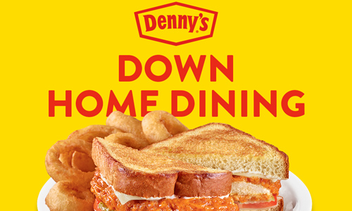 Eric Harley talks with Denny's about their fresh home cooking