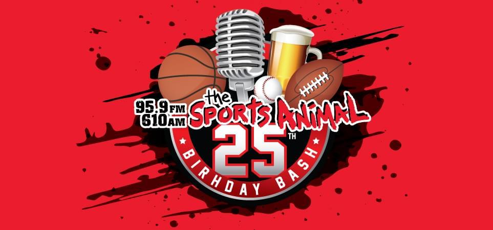 The Sports Animal 25th Birthday Bash