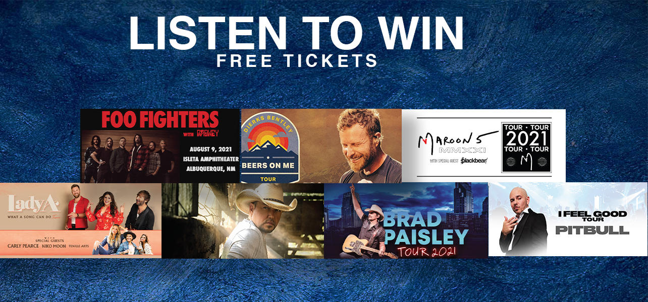 Listen To Win Free Tickets!