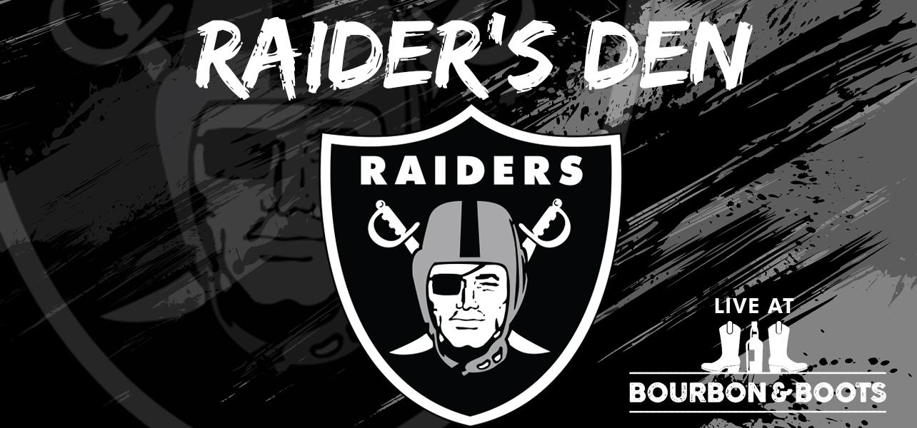 Raider's Den – Live From Bourbon & Boots