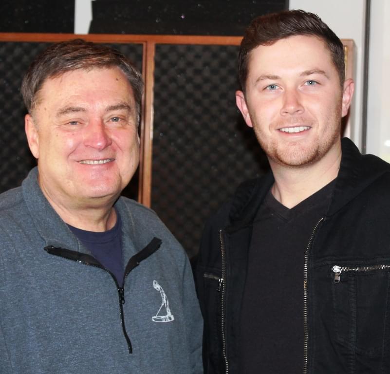 Scotty McCreery Co-Hosts In Carolina
