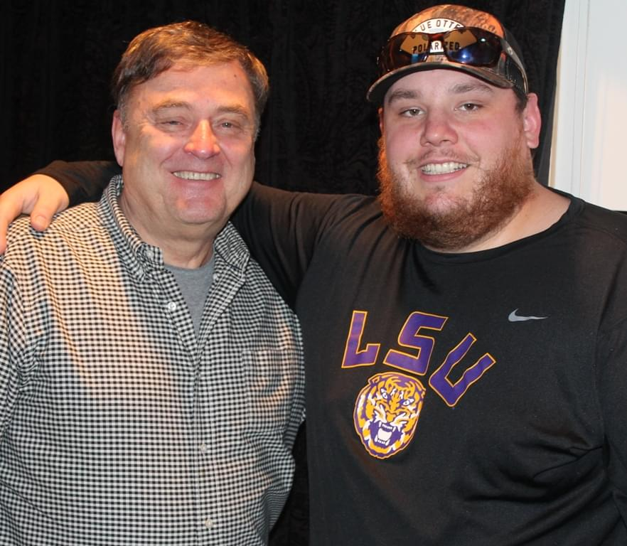 Luke Combs From His Man Cave