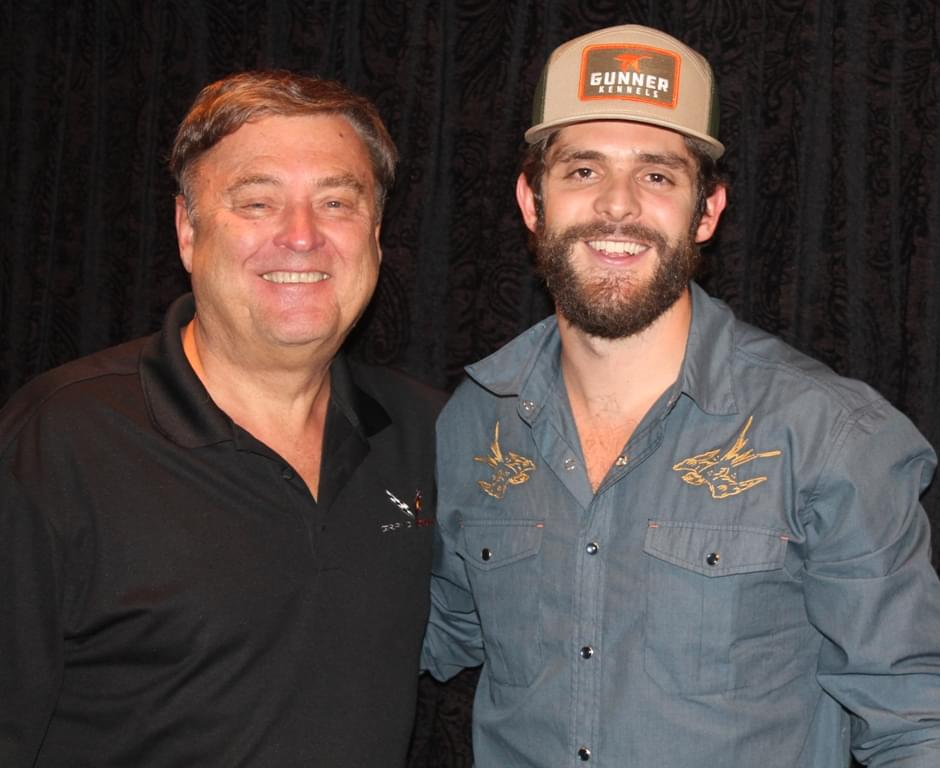 Thomas Rhett & Wife Co-Host