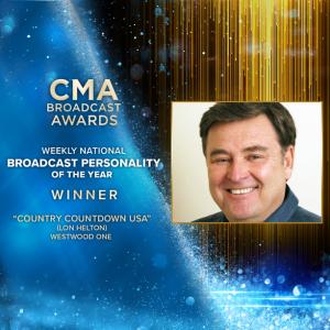 AUDIO: Lon Helton Wins CMA Award