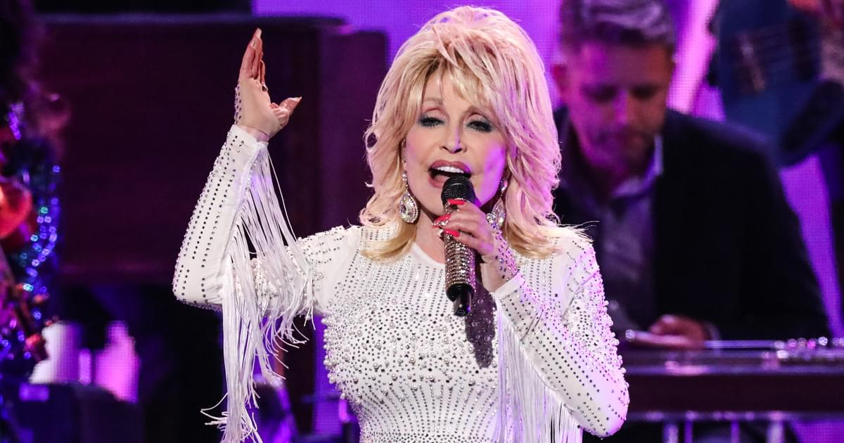 "Listen to Dolly Parton's Festive New Holiday Song, ""Christmas on the Square"""
