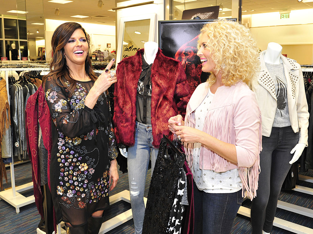 Little Big Town's Karen Fairchild Showcases New Fall Clothing Line at Macy's