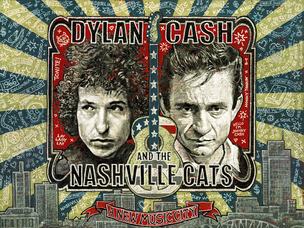 "Country Music Hall of Fame & Museum Extends ""Dylan, Cash and the Nashville Cats"" Exhibit"