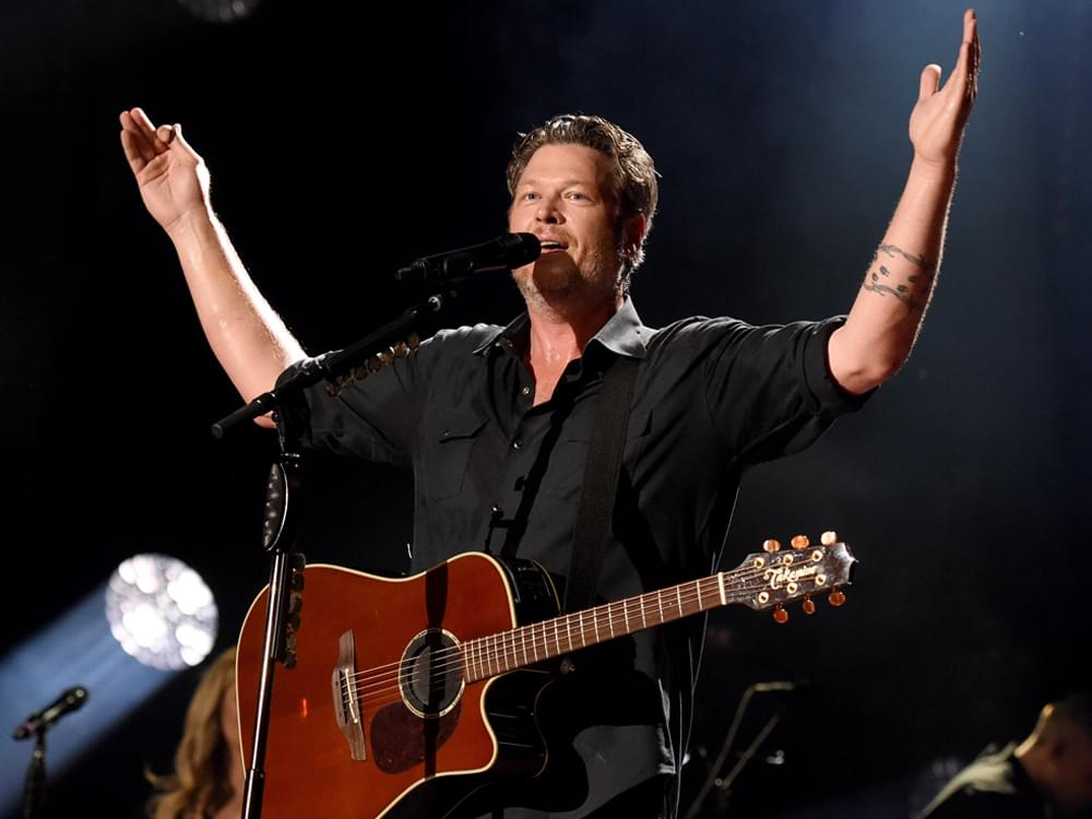 """Blake Shelton Teases New Single, """"God's Country"""" [Listen]"""