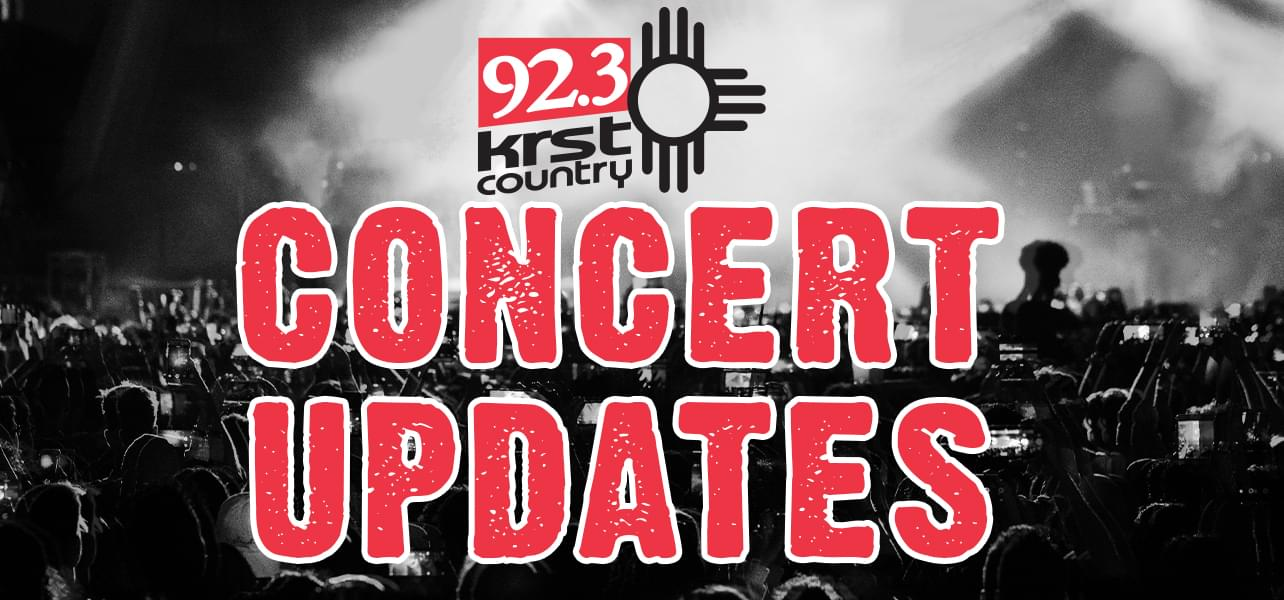 KRST Concert Updates