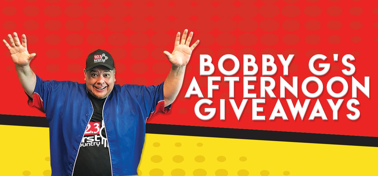 Bobby's Afternoon Giveaways
