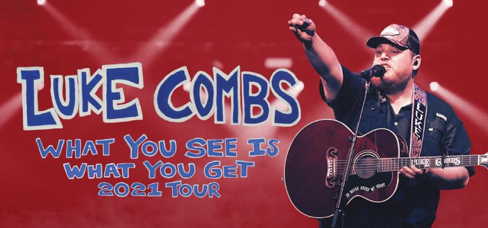Luke Combs – Rescheduled