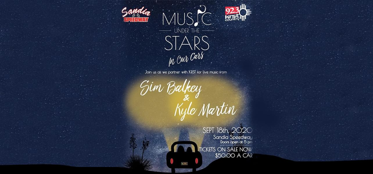 4th Annual Music Under The Stars…IN OUR CARS!