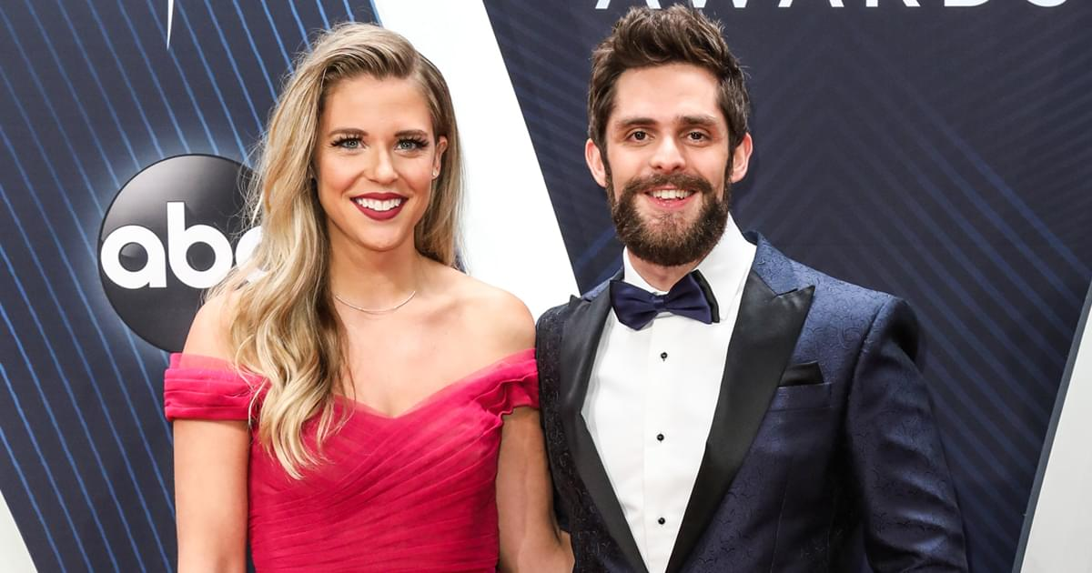 "Thomas Rhett Says Wife Lauren Akins' New Book Is ""Hilarious, Sad, Embarrassing, Inspiring"" & More"