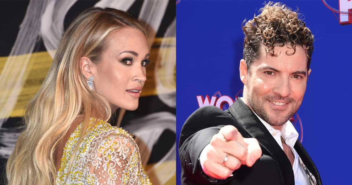 """Carrie Underwood Teams With David Bisbal for Soaring Bilingual Ballad, """"Tears of Gold"""" [Watch Video]"""