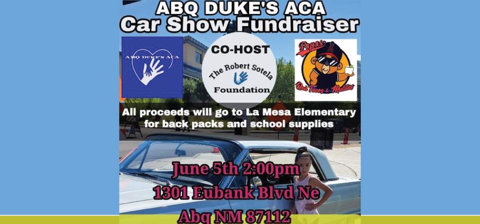 ABQ Dukes ACA Car Show Fundraiser
