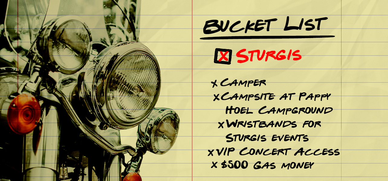 Bucket List Fantasy Getaway 1 Contest – Official Rules
