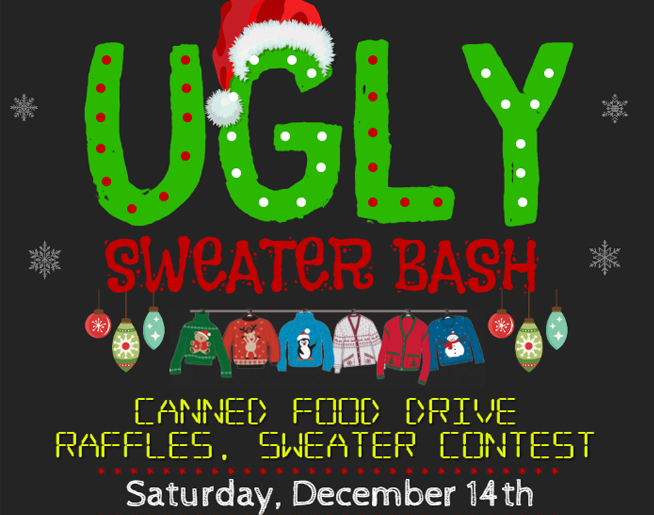 Harvesters Christmas Sweater Party!