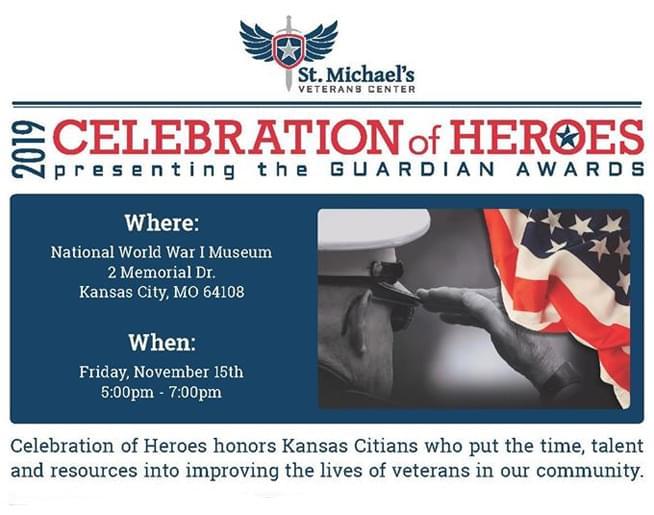 2019 Celebration of Heroes – Nov. 15
