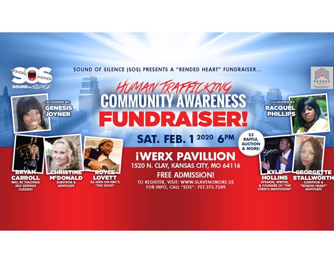 Human Trafficking Community Awareness Fundraiser – Feb. 1st