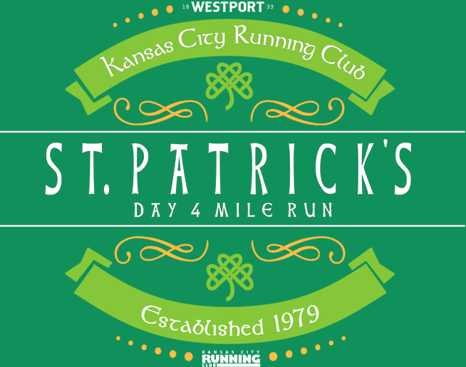 St. Patrick's Day 4-Mile Run – March 14th