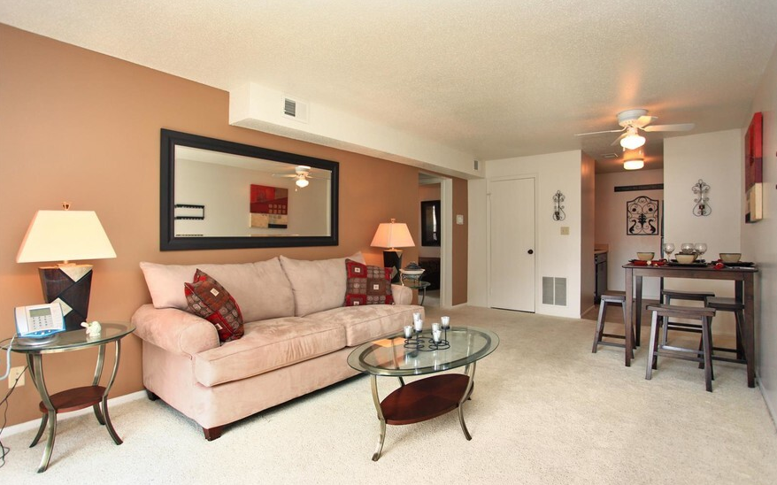 1 and 2 bedroom, apartments that are spacious and well designed!