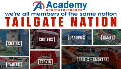 Academy Sports Tailgate!