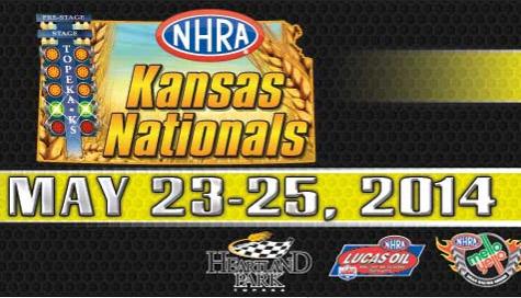 26th annual NHRA Kansas Nationals – May 23-25